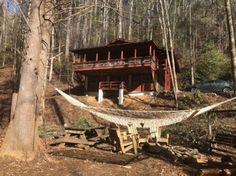 Check out this awesome listing on Airbnb: Trail Nut Cabin at Moody Hollow/Appalachian Trail - Cabins for Rent in Hiawassee