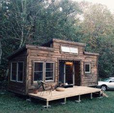 En plus des règlements municipaux qui leur font parfois la vie dure, les mini maisons ne sont pas bi... - Photo Pinterest