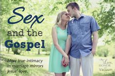 It's Wednesday, the day when we always talk marriage! And today guest poster Abigail Alleman explores whether making love can actually be a vehicle God uses to show the depth of His love. Here's Abigail showing us where sex and the gospel intersect: It's Easy to Be Blind During the first couple years of our […]