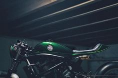 Today on returnofthecaferacers.com - A Kawasaki Vulcan S Cáfe cruiser gets the real cafe racer treatment thanks to Oficina MRS in France. #motorbikeshed