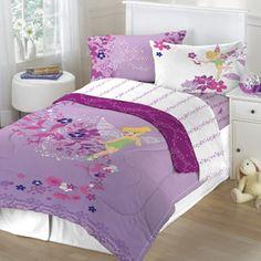 Tinker Bell Powder Purple Comforter