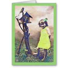 Vintage St. Patrick's Day Card Barefoot Beauty