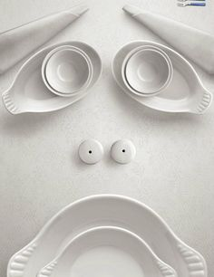 All White   emotional Face | Fun Design