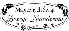 068 Stempel - Magicznych Świąt Bożego Narodzenia CraftyMoly