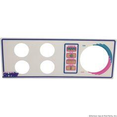 Overlay, Len Gordon Aquaset 4001/4002-4-SS, 4 Button
