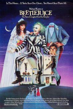 Beetlejuice Original Movie Poster. 1988