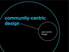 With community-centric design you're a catalyst shaping culture, creating possibilities and building connection to a shared purpose.