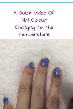 Nails change color with the temperature. How To Find Out, Give It To Me, Magic Nails, Color Change, Nail Colors, Northern Lights, Nail Designs, Nail Desings, Nordic Lights