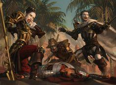 Magic the Gathering : Ixalan AD : Cynthia Sheppard © Wizards Of The Coast