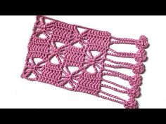 Crochet Pattern Spiders And Squares - Yo - Diy Crafts Crochet Lace Scarf, Crochet Collar, Filet Crochet, Crochet Scarves, Crochet Motif, Crochet Designs, Crochet Stitches, Knit Crochet, Youtube Crochet Patterns