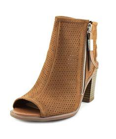 4994586a86457f CIRCUS BY SAM EDELMAN CIRCUS BY SAM EDELMAN KAMMIE-2 PEEP-TOE CANVAS BOOTIE.   circusbysamedelman  shoes