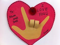 Simple and personalized Mother's Day card.