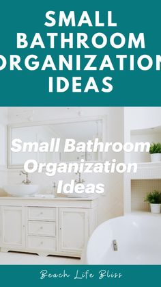 Small Bathroom Organization, Bathroom Hacks, Home Organization Hacks, Bathroom Ideas, Bathrooms, Declutter Home, Small Space Living, Diy Cleaning Products, Cleaning Solutions