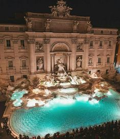 Eternal masterpiece Trevi Fountain, Rome, Italy