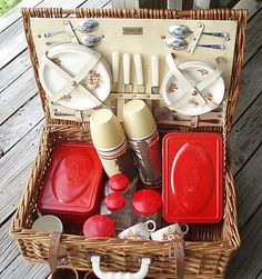 Picnic Basket for a 'Tail gate party'