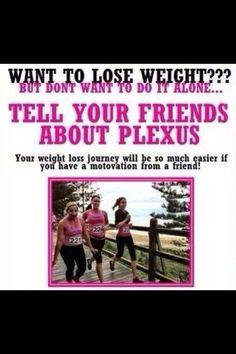 What's better than drinking plexus? Drinking plexus with a friend. 1 pink drink a day melts the fat away.  www.plexusslim.com/PinkBanana