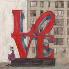Sam Toft- It's All We Need art print - sign up to our newsletter to get 10% off this & all of our art prints
