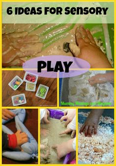 Weekly Kid's Ideas for Sensory Fun! - The Empowered Educator Tactile Activities, Infant Activities, Learning Activities, Activities For Kids, Preschool Ideas, Teaching Ideas, Baby Sensory, Sensory Play, Sensory Boxes
