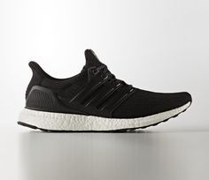adidas Ultra Boost 3.0 Leather - Black / White