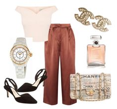 """""""Untitled #105"""" by gildaronca on Polyvore featuring TIBI, Chanel and Isa Tapia"""