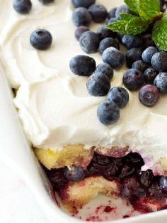 Vegetarian Low FODMAP Recipe and Gluten Free Recipe - Blueberry tiramisu - http://www.ibscuro.com/blueberry_tiramisu.html