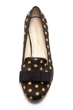 dotty loafers.