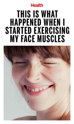 """This Is What Happened When I Started Exercising My Face Muscles - The moves I learned at a """"face fitness"""" studio definitely make me feel silly, but they are actually working. Calendula Benefits, Lemon Benefits, Muscle Fitness, Health Fitness, Fitness Hacks, Facial Fitness, Fitness Routines, Face Exercises, Face Yoga"""
