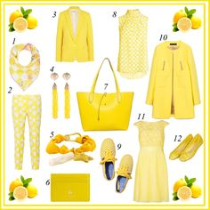 Die for Style: Spring colour...Yellow lemon