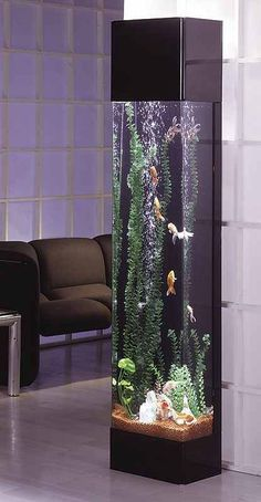 Midwest Tropical Rectangle Aqua 30 Gallon Tower Aquarium - The Rectangle Aqua Tower is your slice of underwater heaven, looking as if you reached in and pulled out a five foot sample of paradise. Aquarium Design, Aquarium Mural, Aquarium Fish Tank, Aquarium Ideas, Aquarium Stand, Aquarium Kit, Aquarium Terrarium, Cool Fish Tanks, Amazing Aquariums