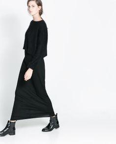 Image 2 of LONG SKIRT from Zara