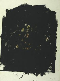 Robyn Denny 'Painting', 1959 © Robyn Denny   Artist Robyn Denny 1930–2014 Title Painting Date 1959 Medium Oil paint and gouache on paper Dimensions Support: 756 x 552 mm Collection Tate Acquisition Presented by the artist 1973