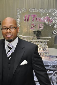 Pastor Patrick Winfield after his installation as Pastor of The Potter's House of Fort Worth.  http://www.tphfw.org