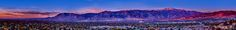 https://flic.kr/p/h5fdiR | Colorado Springs Skyline at Sunrise | Not totally proud of this image, but thought I'd share my learning from processing it. This is a very large panoramic (could be printed at 100+ inches wide with no loss of detail) of Colorado Springs at sunrise. When I stitched the pano, I noticed there was not much overlap between images, which caused some slight vignetting between frames. I tried to correct that as much as possible, but it is still a little evident. I also…