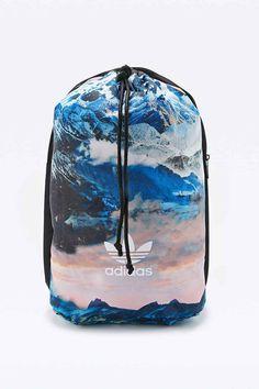 Adidas Originals - Sac à dos Mountain Clash noir à motif montagnes - Urban Outfitters