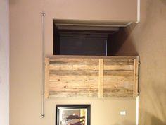 barn door from re-purposed pallet wood