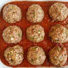 Slow Cooker Beef & Vegetable Meatballs