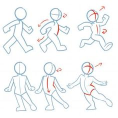 how to draw action poses