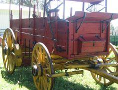 Horse Drawn Rebuilt Freight Wagon