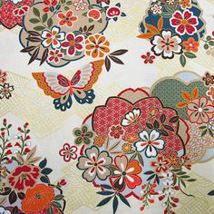 Japanese Textiles, Japanese Patterns, Japanese Prints, Japanese Design, Chinese Patterns, Oriental Print, Oriental Pattern, Japanese Paper, Japanese Fabric