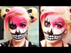 Resultado de imagen para chicas pintas de halloween