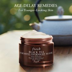Love their day cream--now I want to try Fresh - BLACK TEA FIRMING OVERNIGHT MASK