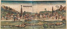 Vienna in the Nuremberg Chronicle 1493