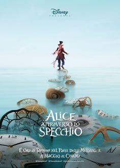Alice Kingsleigh (Mia Wasikowska) ha trascorso gli ultimi anni seguendo le impronte paterne e navigando per il mare aperto. Al suo rientro a Londra, si ritrova ad attraversare uno specchio magico, che la riporta nel Sottomondo dove incontra nuovamente i suoi amici il Bianconiglio, il Brucaliffo, lo Stregatto e il Cappellaio Matto (Johnny Depp) che …