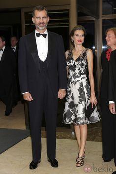 El Rey Felipe VI y la Reina Letizia en los Premios Mariano de Cavia 2014