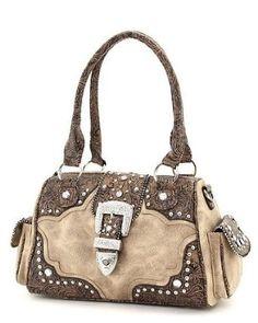 Western purse, my purse. In black. I love it, but it's pretty heavy