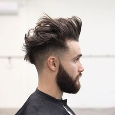 Mohawk With Undercut Or Fade