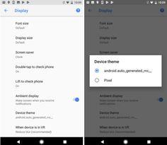 Android O güncellemesi ile resmi tema desteğinin geleceği ortaya çıktı. Peki, Android temaları nasıl kullanılacak ve neleri değiştirecek?    Google I/O 2017 etkinliğinden sonra geliştiriciler içinAndroid O Developer Preview 2 güncellemesi indirime sunulmuştu. Google Pixel ve Google Pixel XL...   https://havari.co/android-o-ile-resmi-tema-destegi-geliyor/