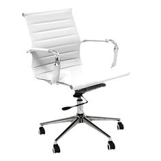 milan direct replica eames executive office. eames replica executive mid back office chair white buy chairs mydeal milan direct e