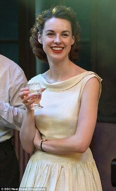 Jessica Raine as Jenny Lee in Call the Midwife BBC series, also airing on PBS