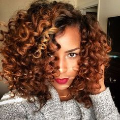 Love the color & these curls!